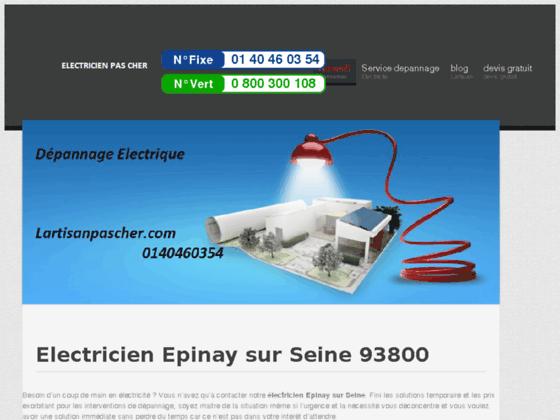 Electricien Epinay sur Seine