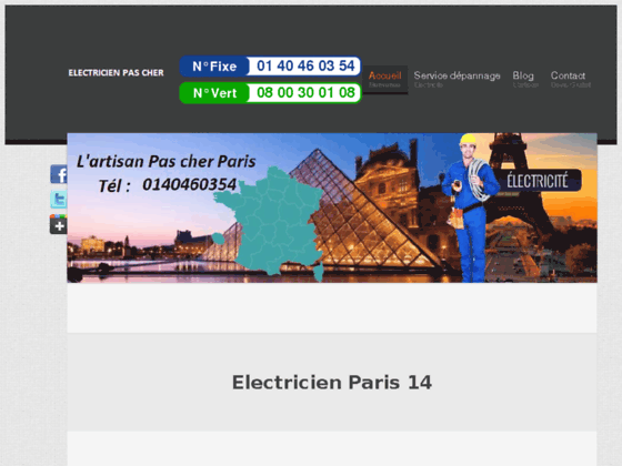 http://electricienparis14.lartisanpascher.com