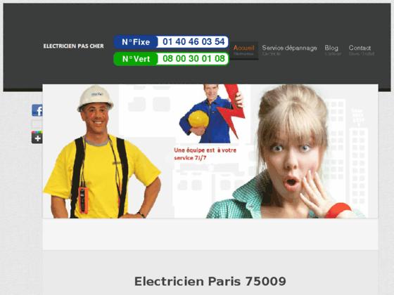 Electricien Paris 75009