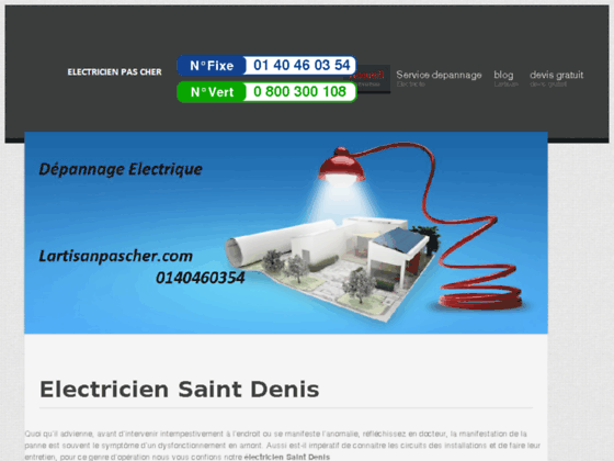 Electricien Saint Denis