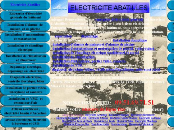 Electricite generale du batiment a Abatilles, artisan electricien