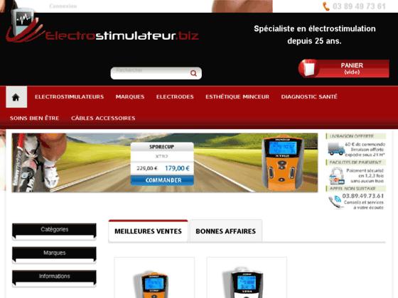 Electrostimulateur - Dossier électrostimulation