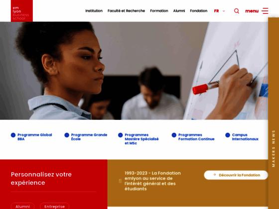 programme start-up EM-Lyon