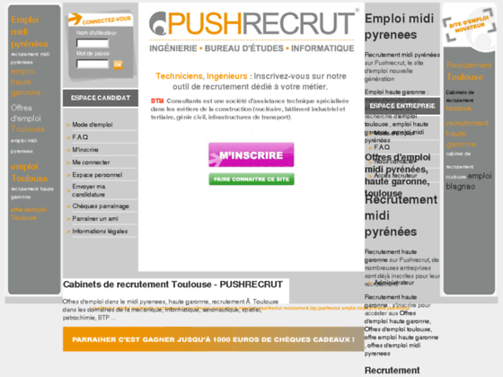 Cabinets de recrutement toulouse