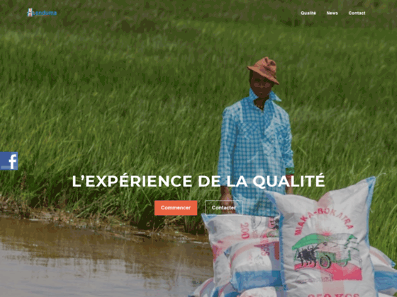 Non woven bag | Enduma Madagascar � Groupe Trimeta