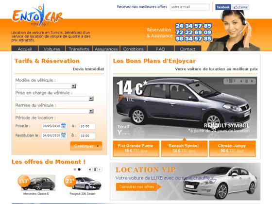 Location voiture Tunisie : Location voiture Tunis, Hammamet, Enfidha, Djerba
