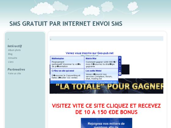 ENVOI SMS GRATUIT GRATUITEMENT ENVOYEZ VOS SMS GRATUIT SFR