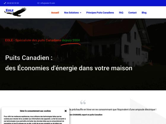 VMC pour puits Canadien