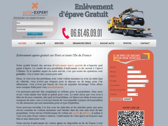 EPAVES EXPERT - Enlèvement d'épave gratuit 7/7 et 24/24, en Ile de France, Essones, Hauts de Seine,