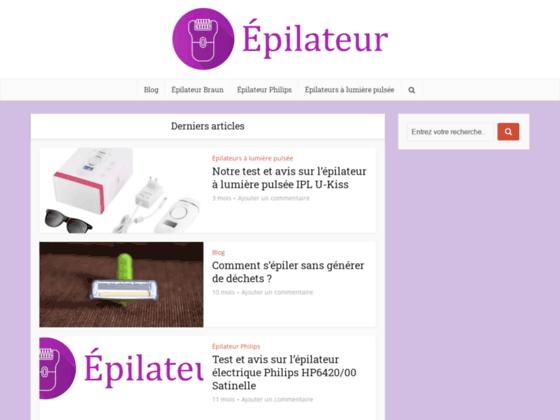 Comparatif d'epilateurs electriques