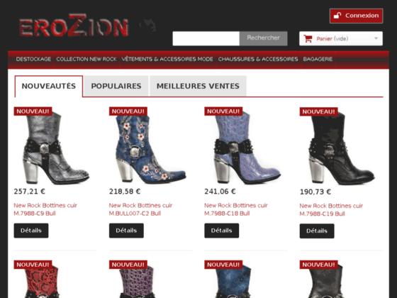 EROZION.COM Mode & Accessoires Undergroud Gothique Vintage Military Emo