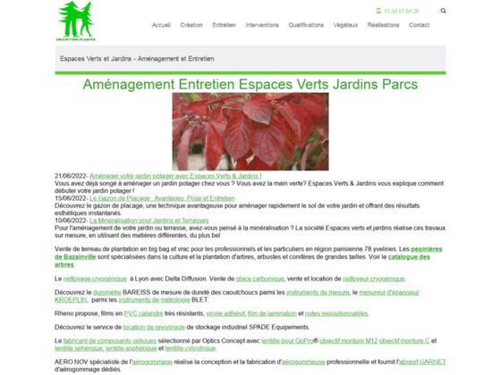 Espaces Verts et Jardins - Aménagement Entretien