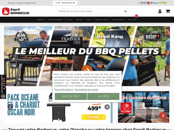 Plancha electrique - Plancha électrique Saveur 64cm - barbecue