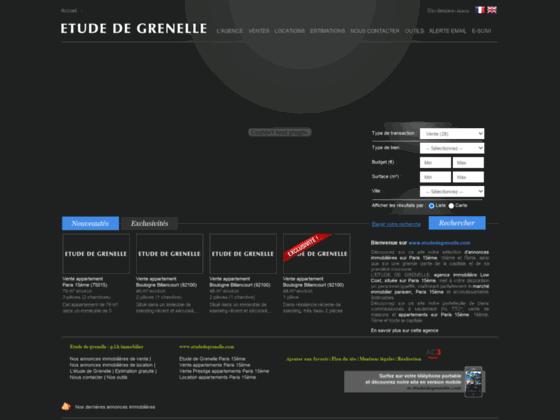 agence immobilière Etude de Grenelle sur Paris 15e