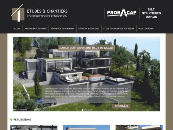 Etudes et Chantiers - construction maison constructeur dans l'hérault -34