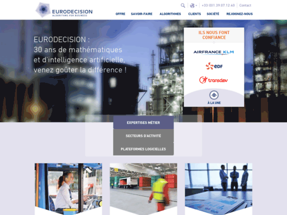 Eurodecision conseil en optimisation de ressource