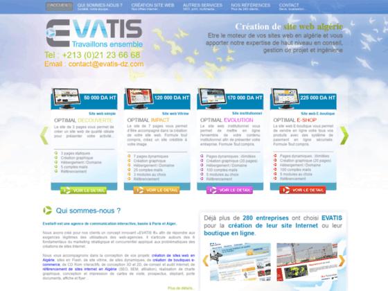 Création site internet Algerie