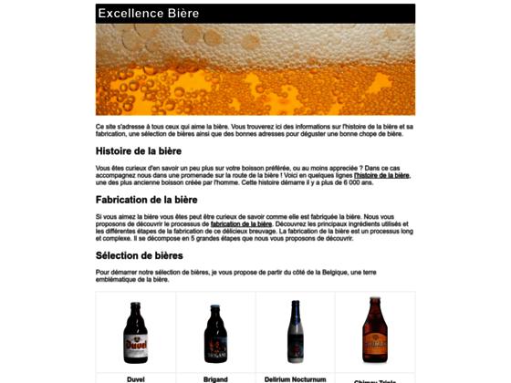 Vente en ligne bières blanches, blondes et brunes