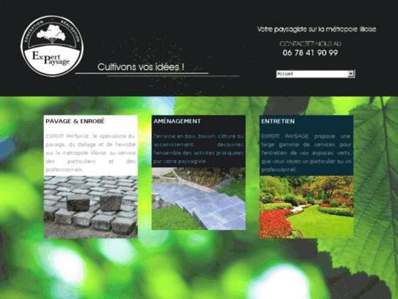 Expert Paysage - Paysagiste Nord - aménagement et entretien espaces verts et jardins - assainissemen