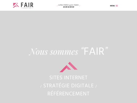 Agence web à Nantes : Fair agence web