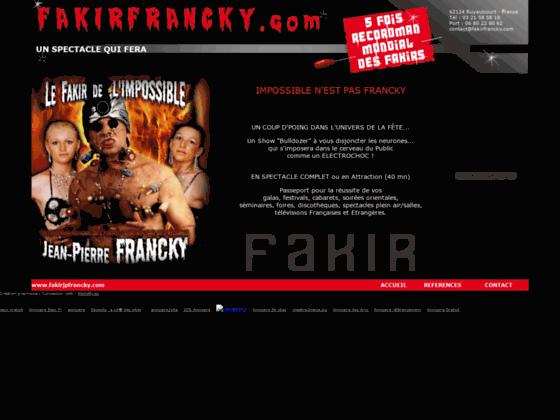 Fakir Jean Pierre Francky