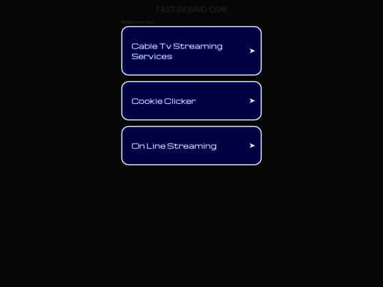 Débrideur gratuit et illimité Megaupload, FREE et Rapidshare | Fast-Debrid.com