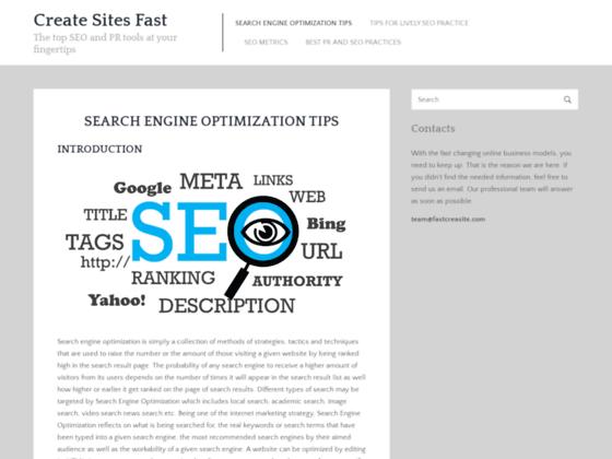 Site web professionnel