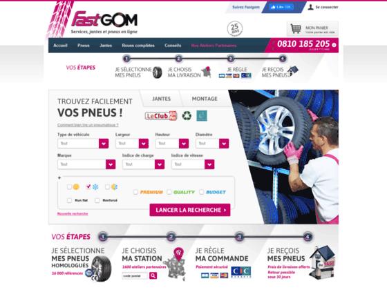 Fastgom.com : Pneus été, neige, et 4x4 discounts