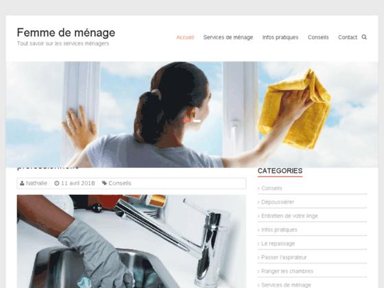 Femme de ménage | travaux de ménage