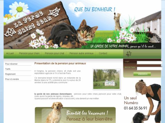 Pension pour chats : La Ferme Saint Jean