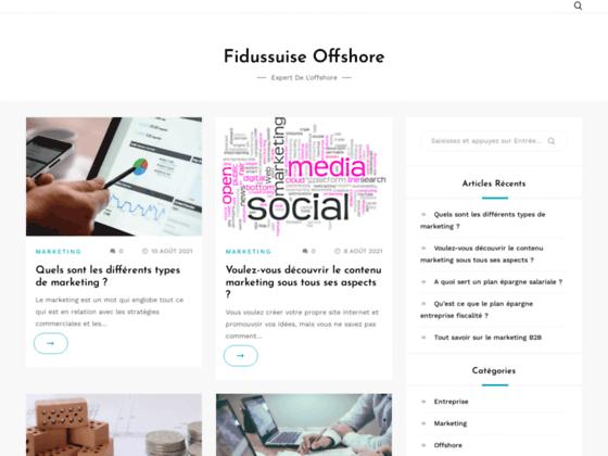 Création société offshore depuis 1985 | Fidusuisse-offshore.com