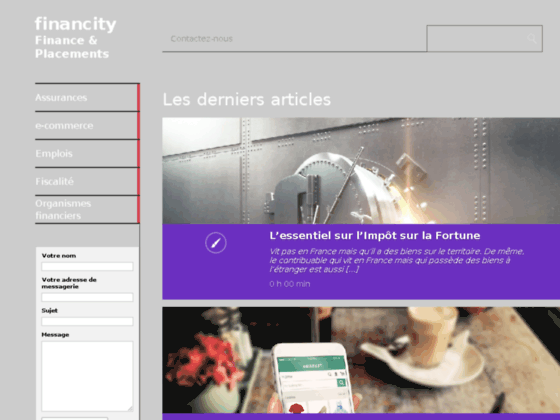 financity : Guide sur les finances