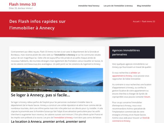 Flash Immobilier : agence immobilière en Gironde pour location d'appartement, vente maison et gesti