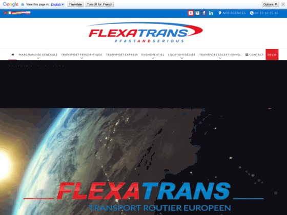 Transport frigorifique et distribution en urgence de vos marchandises - Flexatrans