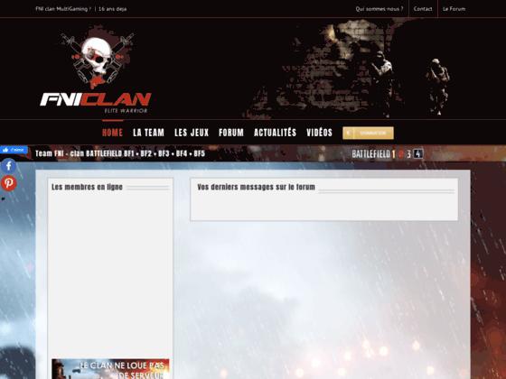 Clan BF3  - Battlefield 3 - FNIclan