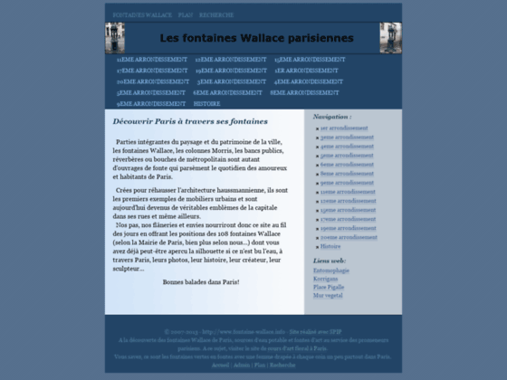 Fontaines Wallace parisiennes