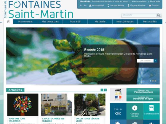 Mairie de Fontaine Saint Martin