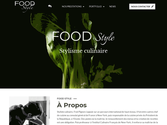 Food Style – Fred Pigeon Styliste Culinaire