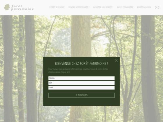 Forêt Patrimoine : Estimation, achat vente Foret