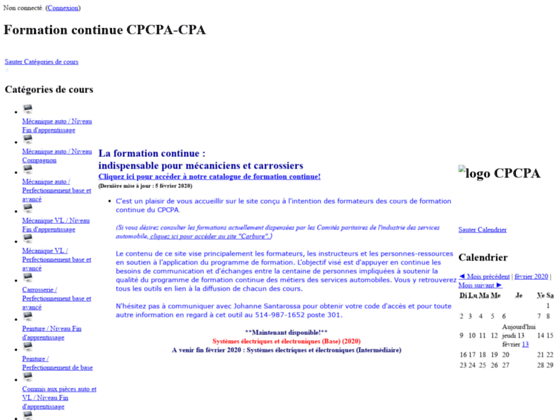 Formation CPCPA-CPA