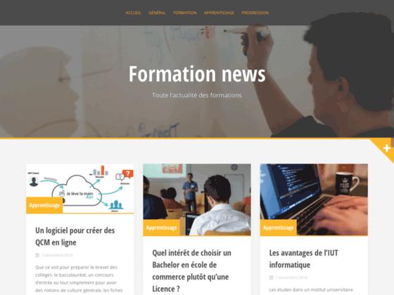 FormationNews - Portail de la Formation