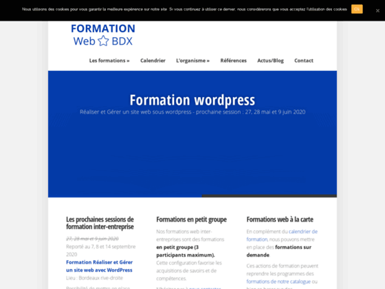 Formation web Bordeaux