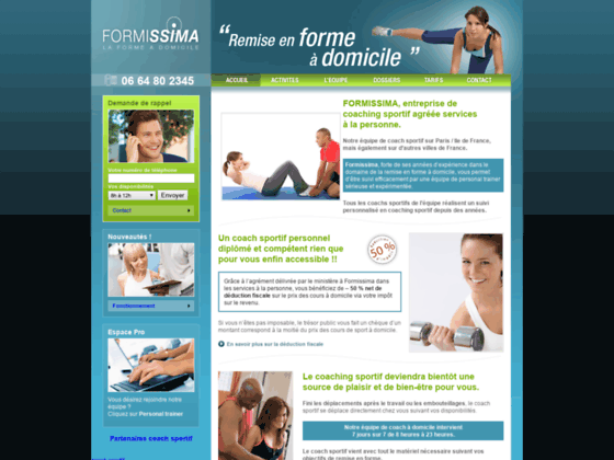 Personal trainer P4022