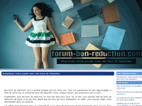 Forum de code promo