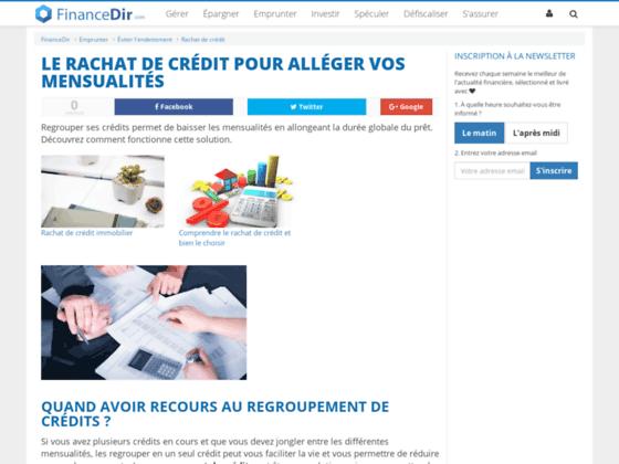 forum sur le rachat de credit