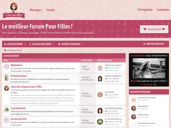 Forum Pour Filles