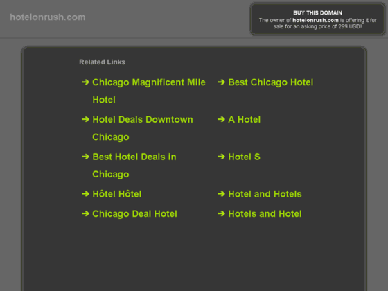 Downtown Chicago Hotel