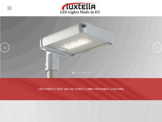 Lampes de rue à LED ou luminaires de rue à LED pour l'éclairage public.