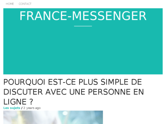 Rencontre France Yes Messenger