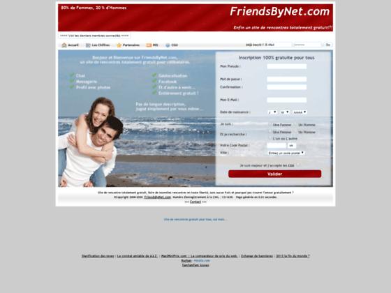 FriendsByNet rencontres gratuites